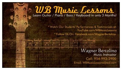 Guitar lesson business cards arts arts business card template guitar gallery design and reheart Images